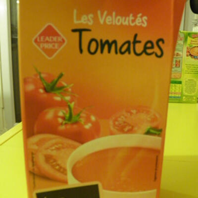 Les veloutés tomate leader price (Leader price)