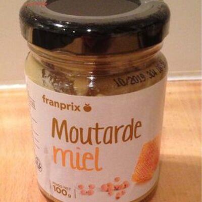 Moutarde miel (Franprix)