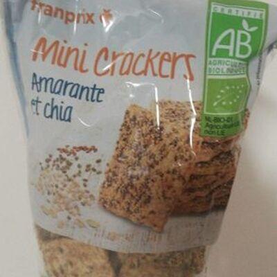 Mini crackers (Franprix)