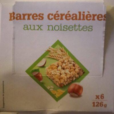 Barres céréalières aux noisettes (Sans marque)