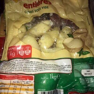 Pommes de terre entières (Leader price)