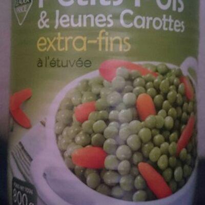 Petits pois et jeunes carottes extra-fins (Leader price)