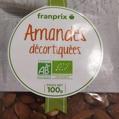 Amandes décortiquées (Franprix)