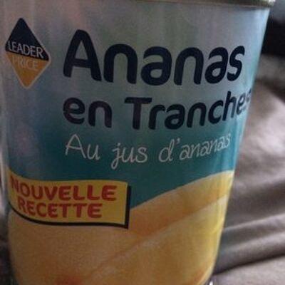 Ananas en tranches (Leader price)