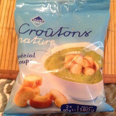 Croûtons nature spécial soupe (Leader price)