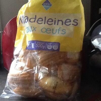 Madeleine aux oeufs (Leader price)