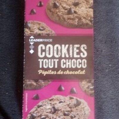 Cookies tous choco pepite de chocolat (Leader price)