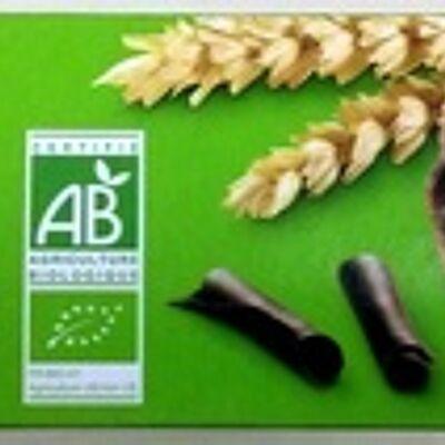 Sablés céréales chocolat noir bio (Leader price)