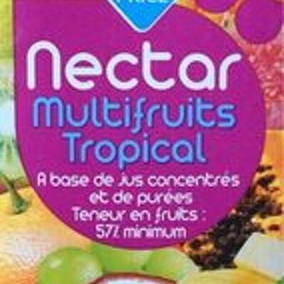 Nectar multifruits tropical (Leader price)
