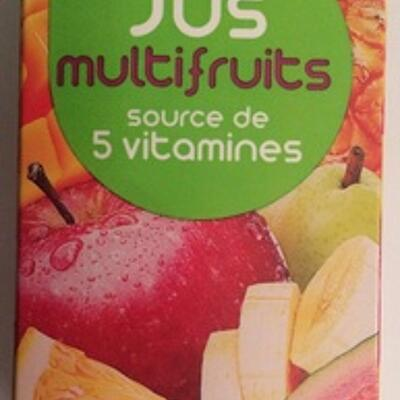 Jus multifruits (Leader price)