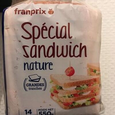 Special sandwich nature (Franprix)
