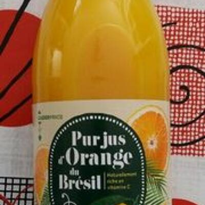 Pur jus d'orange du brésil (Leader price)