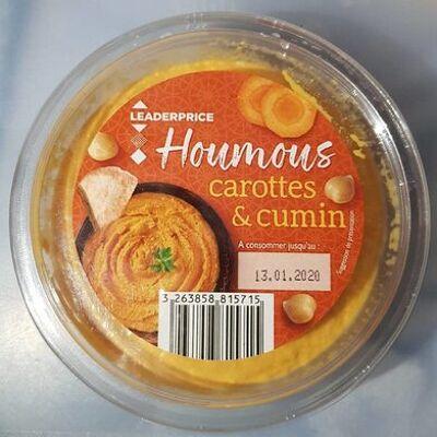 Houmous carottes & cumin (Leader price)