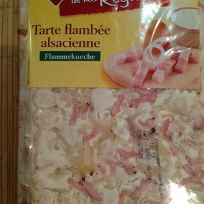Tarte flambee alsacienne (Leader price)