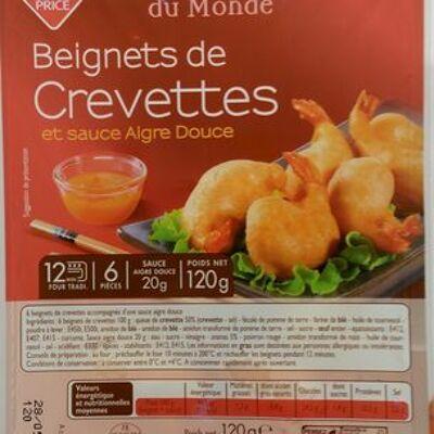 Beignets de crevettes et sauce aigre douce (Leader price)