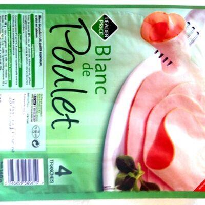 Blanc de poulet (4 tranches) (Leader price)
