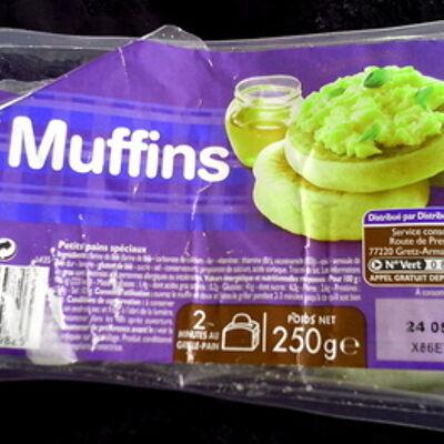 4 muffins (Leader price)
