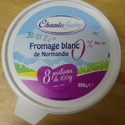Fromage blanc chantesaire (Chante saire)