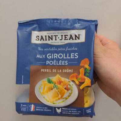 Ravioli girolles persillées (Saint jean)