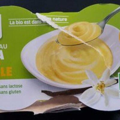 Dessert au soja saveur vanille (La vie claire)