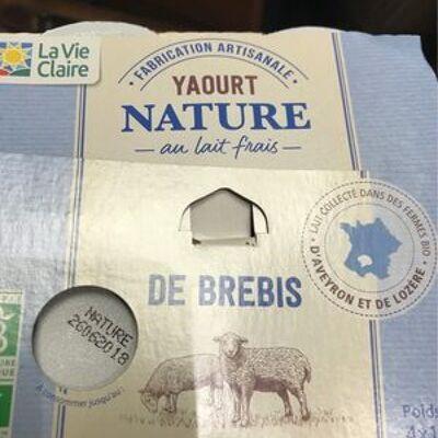 Yaourt nature (La vie claire)