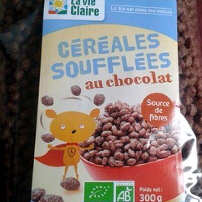 Céréales soufflées au chocolat (La vie claire)