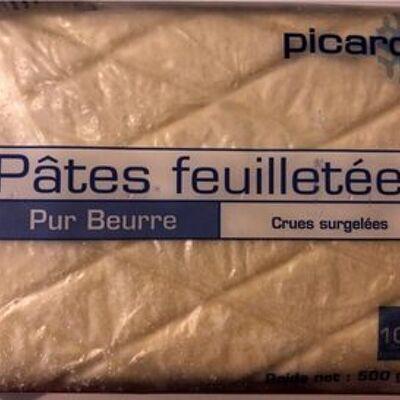 Pâtes feuilletées pur beurre (Picard)