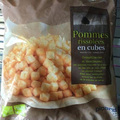 Pommes rissolées en cubes (Picard)