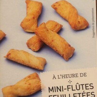 Mini-flûtes feuilletées emmental (Picard)