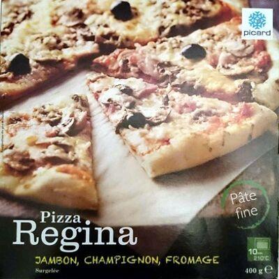 Pizza regina jambon, champignon, fromage (Picard)