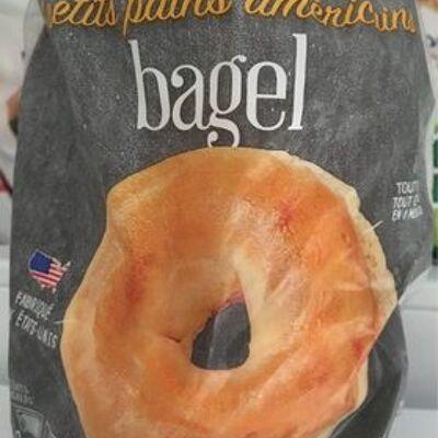 Bagels, 4 petits pain américains (Picard)