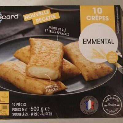 10 crêpes emmental (Picard)
