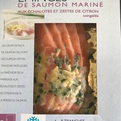Émincés de saumon mariné (Picard)
