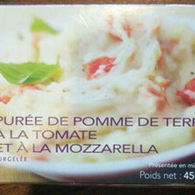 Purée de pomme de terre à la tomate et à la mozzarella (Picard)