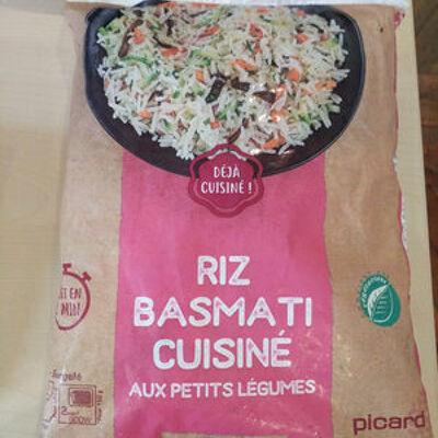 Riz basmati cuisiné aux petits légumes (Picard)