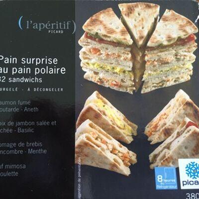 Pain surprise au pain polaire (Picard)