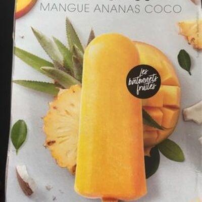L'ensoleillé - bâtonnet fruité (mangue ananas coco) (Picard)