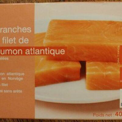 4 tranches de filet de saumon atlantique (Picard)