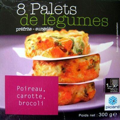 8 palets de légumes préfrits (Picard)