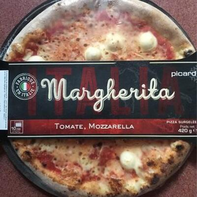 Pizza margherita (Picard)