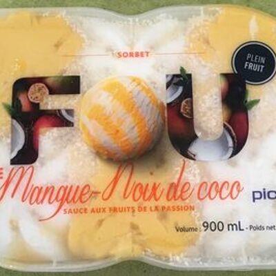 Fou de mangue-noix de coco (Picard)