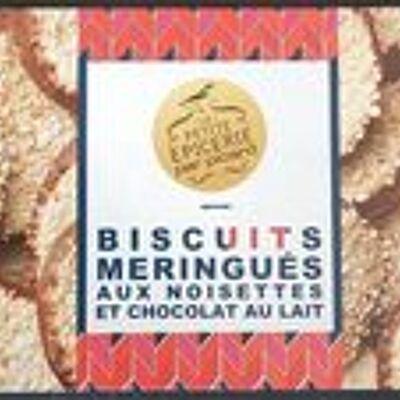 Biscuits meringués aux noisettes et chocolat au lait (Picard)