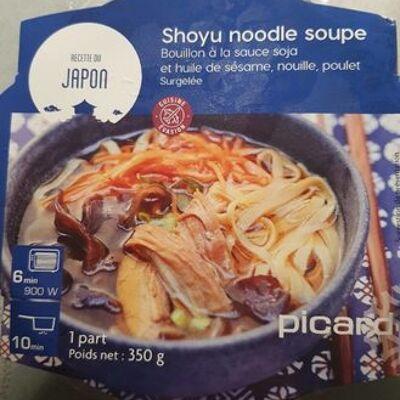 Shoyu noodle soupe (Picard)