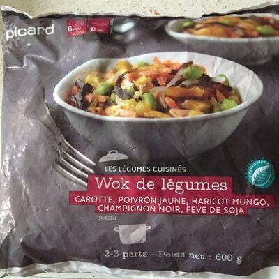 Wok de légumes (Picard)