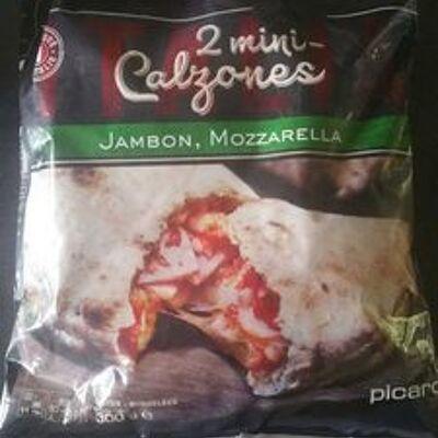 Mini calzone jambon mozzarella (Picard)