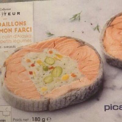 Medaillon saumon farci (Picard)