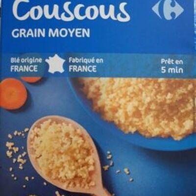 Couscous grain moyen (Carrefour)