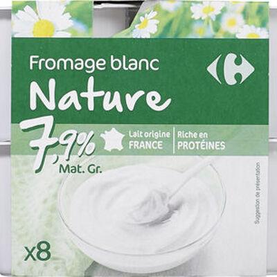 Fromage frais nature (Carrefour)