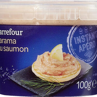 Tarama au saumon (Carrefour)