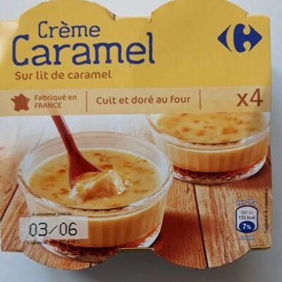 Crème caramel (Carrefour)